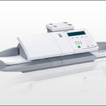 An Image Of The Neopost IJ-40 with Feeder Franking Machines