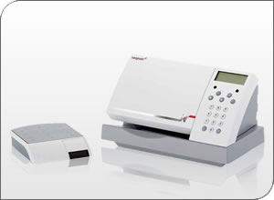 An Image Of the Neopost IJ 25 Franking Machine