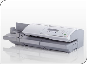 An Image Of the Neopost IJ-70 Franking Machine With Feeder