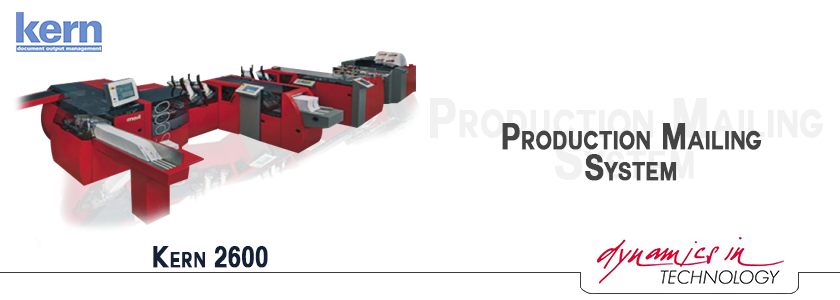 An image of Production Mailing System - kern2600